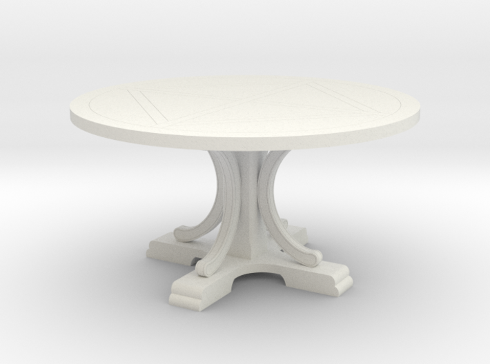 Decorative Round Table 3d printed