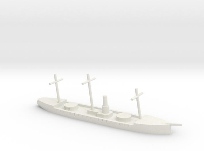HMS Scorpion, 1/1200 3d printed