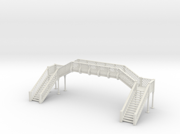 Footbridge - 1 To 64 Scale 3d printed