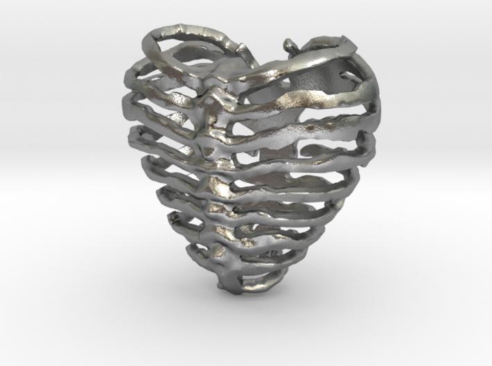 Broken Heart 3d printed