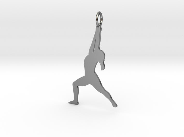 Yoga Girl 3d printed