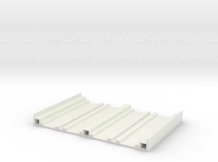 Bridge Base N Gauge 3d printed