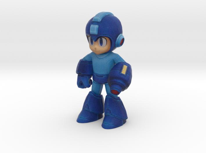 New Megaman - 50mm 3d printed