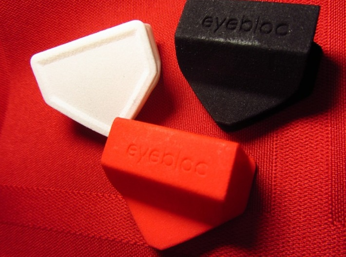 Eyebloc Webcam Privacy Shield 3d printed