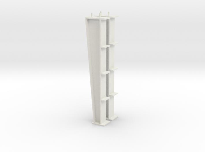 1/64 20ft I-beam Post 3d printed
