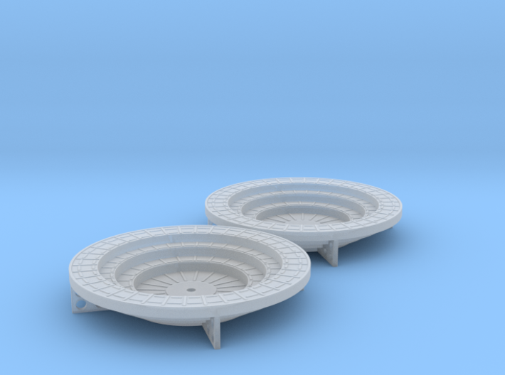 Oerlikon Band Stands 4 supports 1/96 3d printed