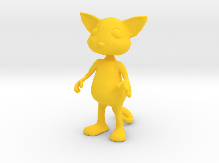 Tiny Cat 3d printed