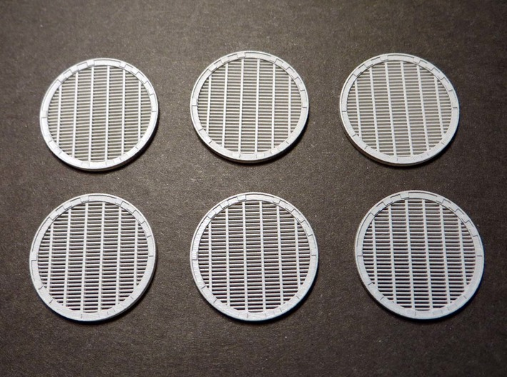 YT1300 MPC ENGINE VENTS 3d printed Falcon MPC engine vents grille primed.