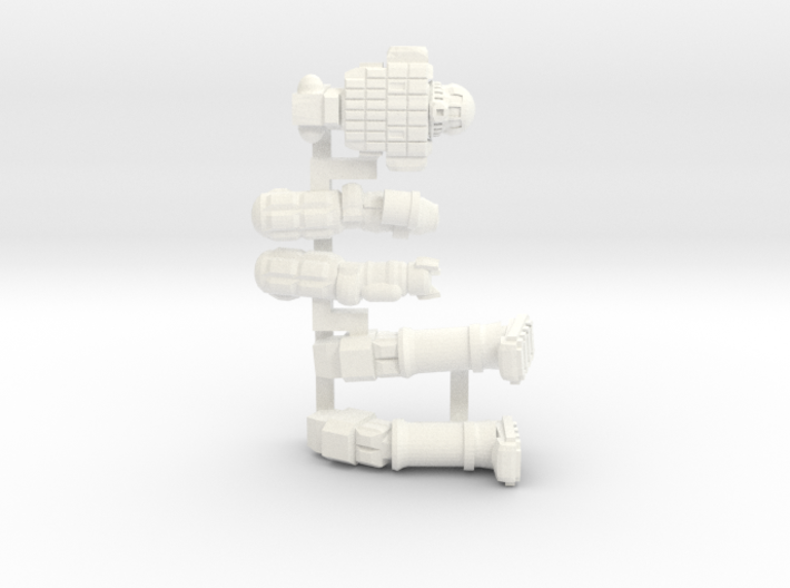 Ares IV Posable 3d printed