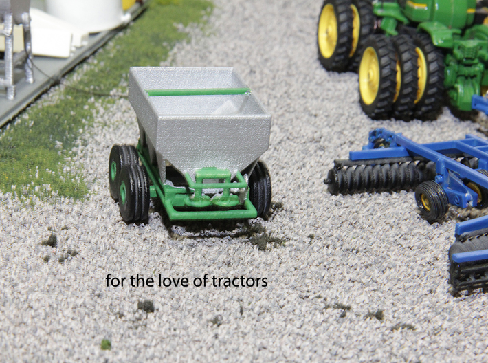 1/64 dry fertilizer Spreader  3d printed