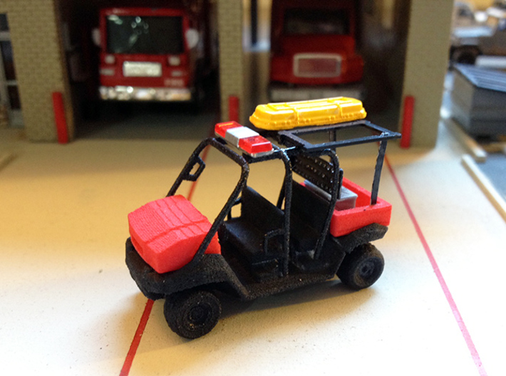 4 Seater MULE 1/87 Scale 3d printed Photo By Mr. Holback