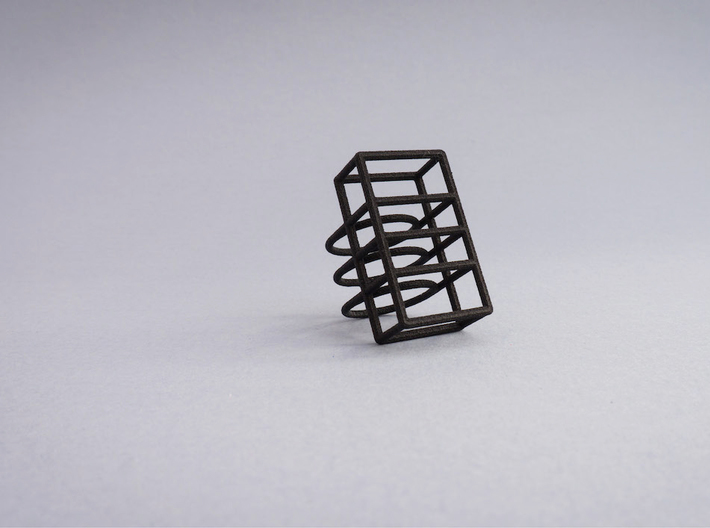 Space Ring: Square 3d printed