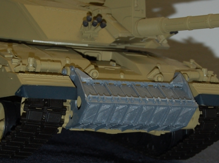 1/16 Challenger 2 Chobham Front Armour Upgrade P2 3d printed