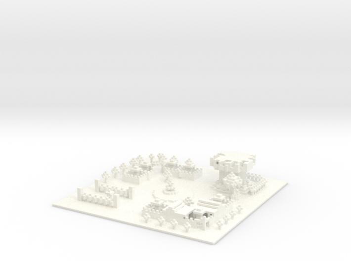 RoboBlastPlanet Bot level 3d printed