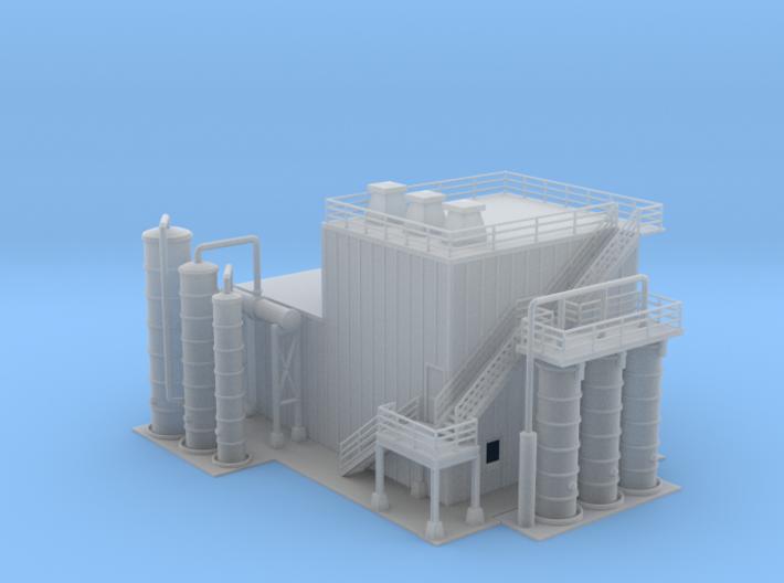 Ethanol Processing Center Facility Building 1 Z Sc 3d printed Ethanol Processing Center Facility Building 1 Z scale