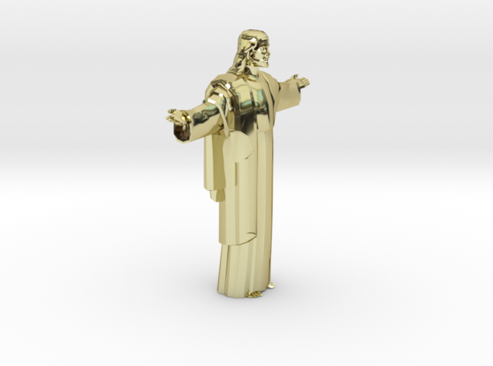 Cristo-redentor HW Medium 3d printed