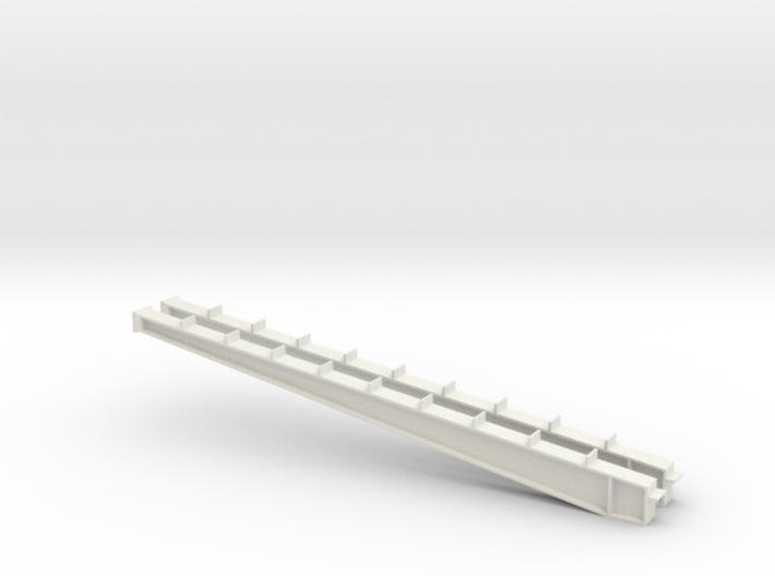 1/64 100' I-beam Cross Span 3d printed