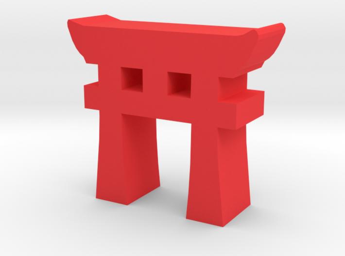 Game Piece, Torii Gate 3d printed