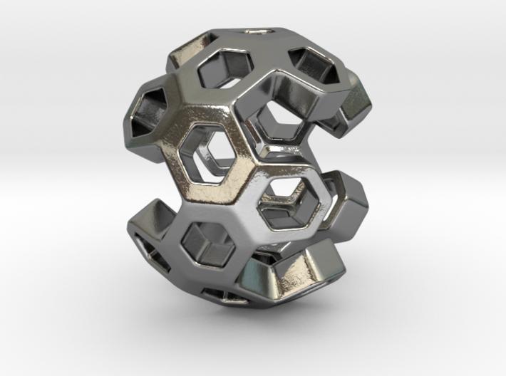 HONEYBOMB ESENSE, Pendant. Sweet Explosion 3d printed