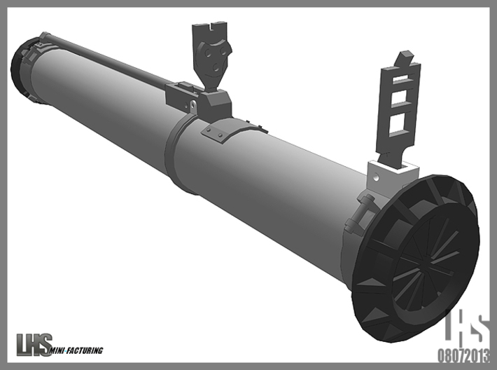 1/6 scale Russian RPG-26 3d printed