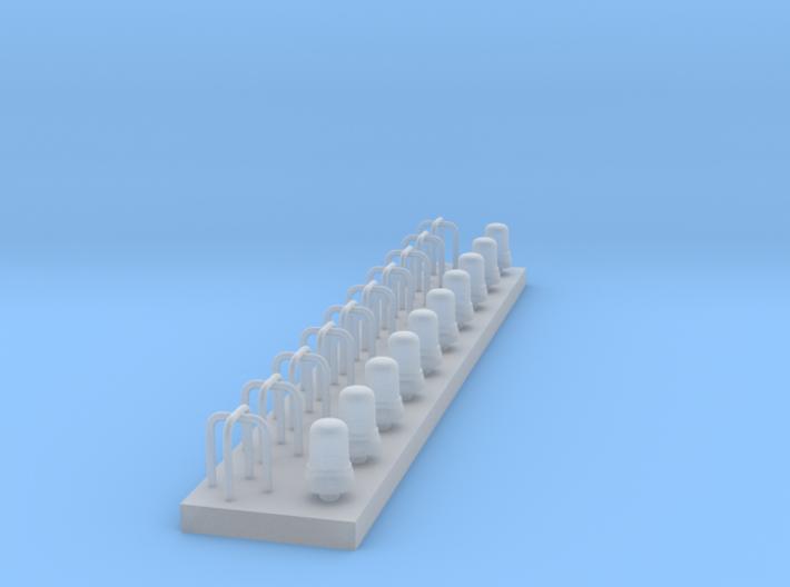 KJL 70 mit Astabweisern - 10 Stück 1/87 3d printed
