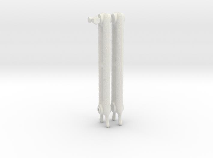 1:6 Decorative Radiator Parts - Legs 3d printed
