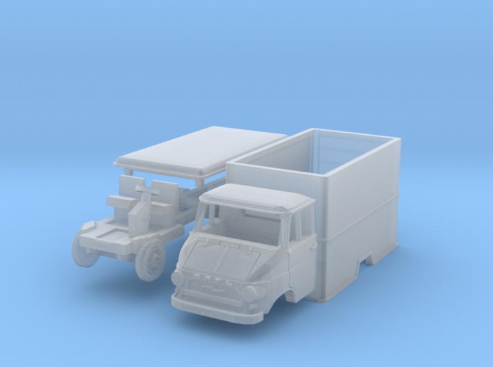 Opel Blitz A Umzugswagen (TT 1:120) 3d printed