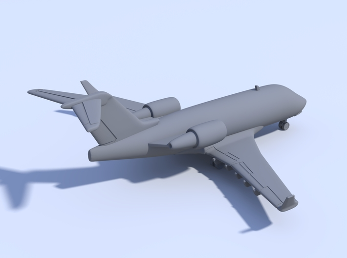 1:500_Challenger 604 [x2][A] 3d printed