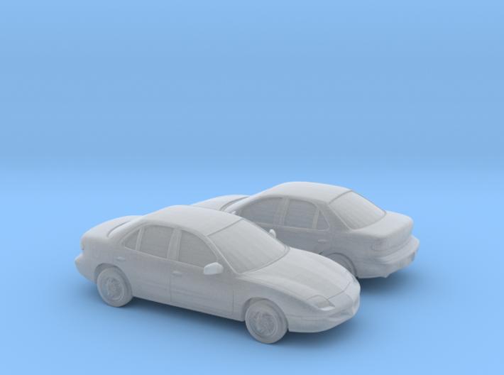 1/160 2X 1995-99 Pontiac Sunfire 3d printed