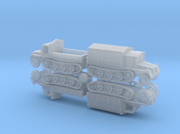 sWS schwerer Wehrmachtsschlepper unarmored 1/285  3d printed