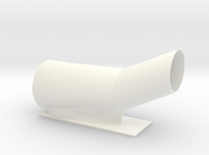 Duct for Pinewood Derby No Rules with Ducted Fan 3d printed