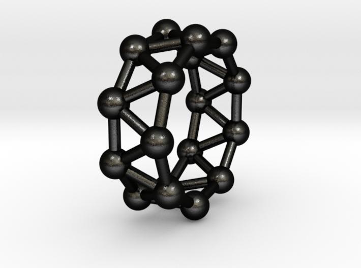 0426 Nonagonal Antiprism (a=1cm) #003 3d printed
