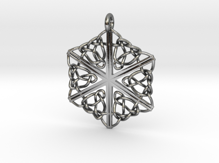 Dreamweaver Celtic Knot Hex 3d printed