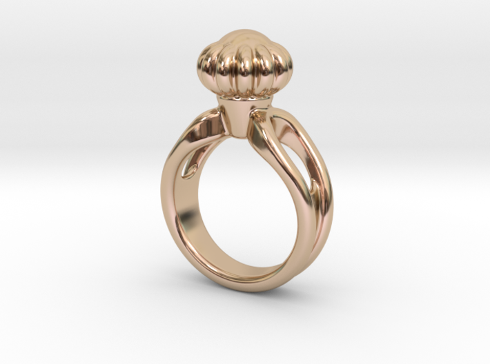 Ring Beautiful 27 - Italian Size 27 3d printed