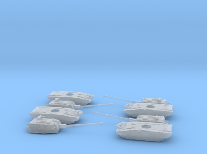 Armata Koalitsiya 2S35 Platoon 6mm 1:285 3d printed