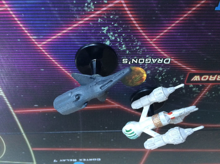 Federation Command Cruiser - 47mm 3d printed