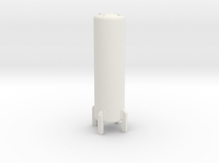 HO Cryogenic Tank H70mm 3d printed