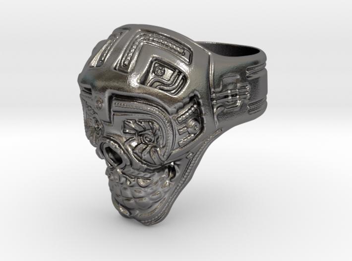Skull Ring 2016 3d printed