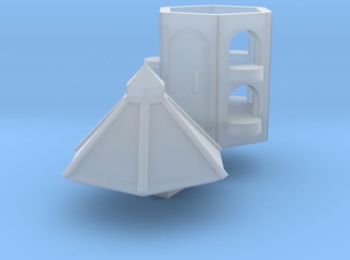 Pigeon-loft (N 1:160) 3d printed