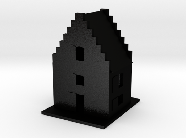 Tilsandede Kirke Church 3d printed