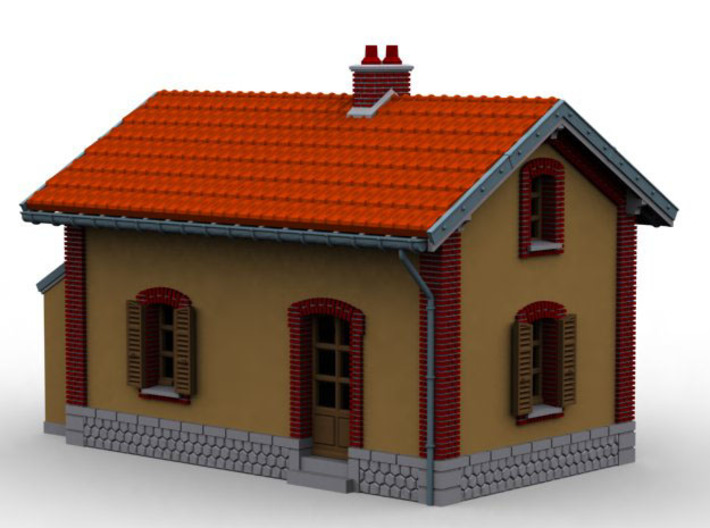NBV21 barrier guard house 3d printed