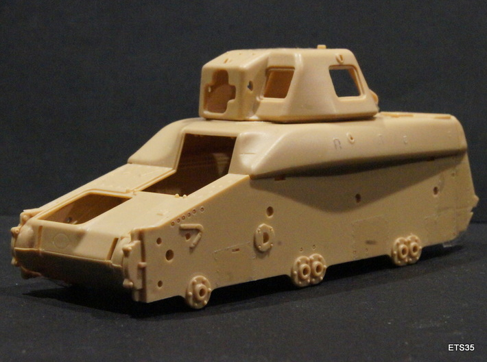 ETS35019 - APX-R turret with SA38 gun 3d printed
