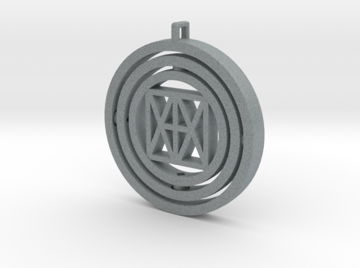 "Universal ""I AM"" Spinner 3d printed"