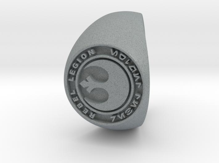 Custom Signet Ring Rebel Legion Size 14 3d printed