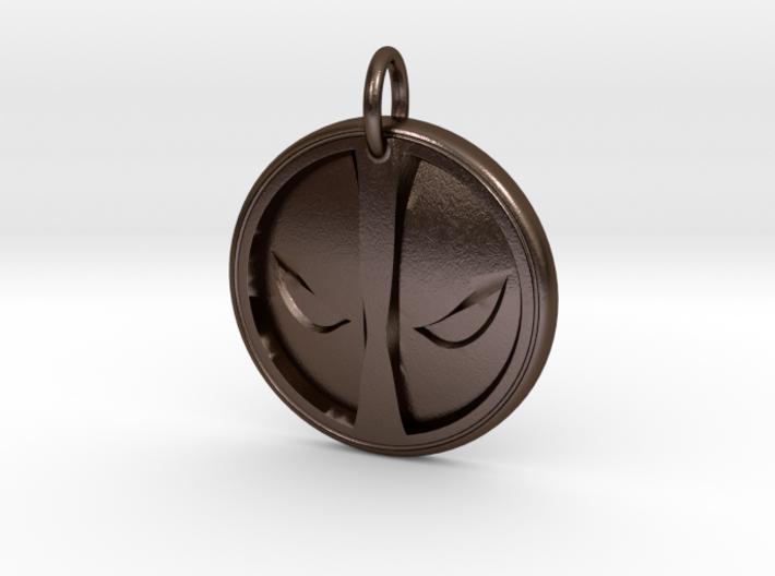 Deadpool Pendant 3d printed