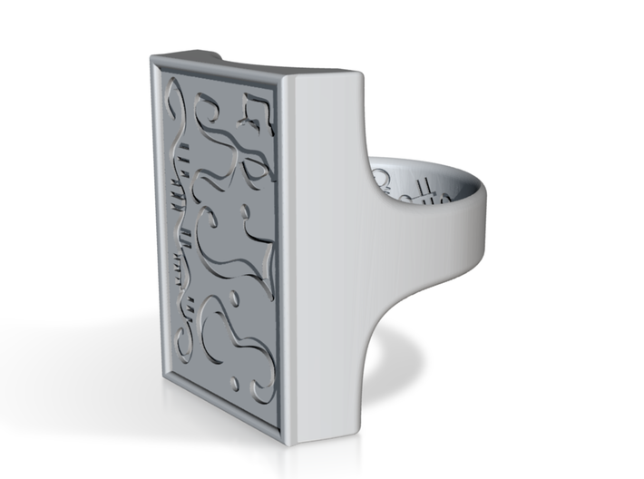 Talisman #7: Man will divulge to you his thoughts 3d printed
