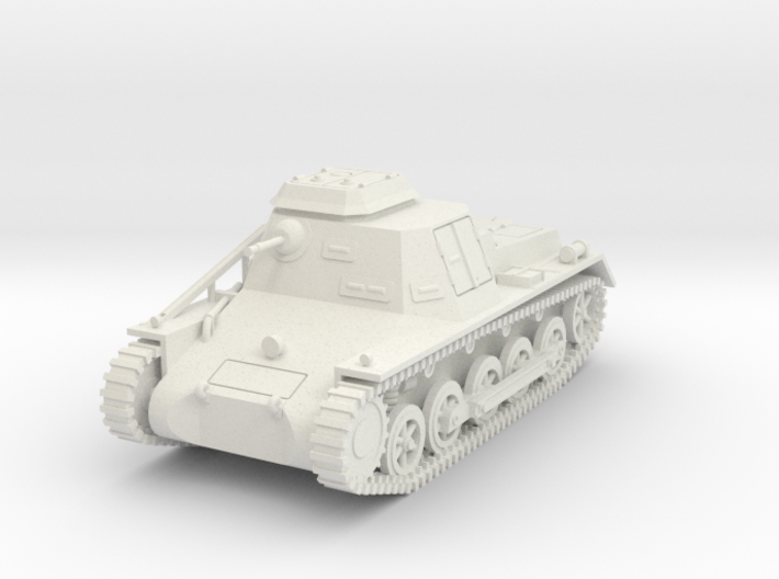 PV107A Sdkfz 265 Light Command Vehicle (28mm) 3d printed