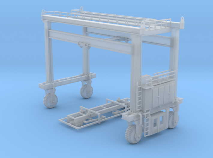 Mi Jack Container Crane N Scale 3d printed Mi Jack Container N scale