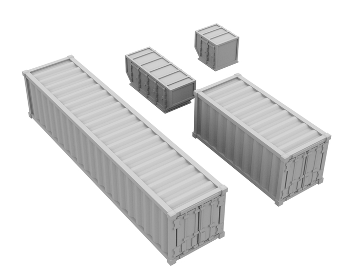 1:500_Containers [x40][A] 3d printed