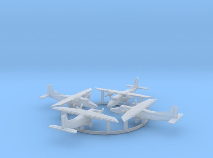 1/700 Do 228 w/gear x4 (FUD) 3d printed